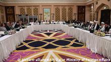 Katar Friedensgespräche für Afghanistan