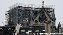 Frankreich Paris | Brand der Kathedrale Notre-Dame de Paris