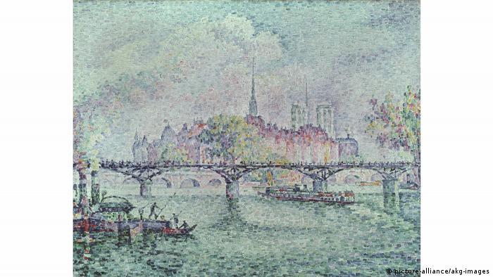Поль Синьяк, Вид на остров Сите, 1912 г.