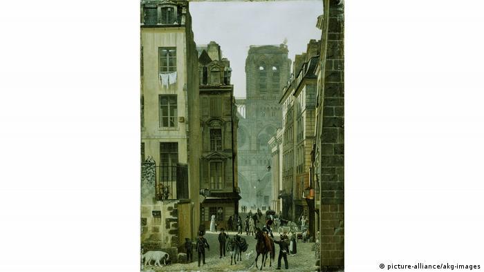 Эдуард Гертнер, Париж, улица Neuve-Notre-Dame, 1826 г.