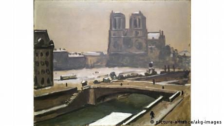 Ο παριζιάνικος Καθεδρικός ήταν ένα από τα αγαπημένα θέματα για τον Άλμπερ Μαρκέ: ο γάλλος ζωγράφος που συνδέθηκε άμεσα με το κίνημα του φωβισμού ζωγράφιζε συχνά την Παναγία των Παρισίων χρησιμοποιώντας συνήθως τις... μουντές εκδοχές των χρωμάτων μπλε, γκρι και άσπρο.