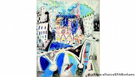 Και ο ισπανός ζωγράφος Πάμπλο Πικάσο ζωγράφισε τον Καθεδρικό Ναό χρησιμοποιώντας διάφορες οπτικές γωνίες. Ο παραπάνω πίνακας του 1954 φέρει τον τίτλο Notre-Dame de Paris και ανήκει στα ώριμα έργα του καλλιτέχνη.