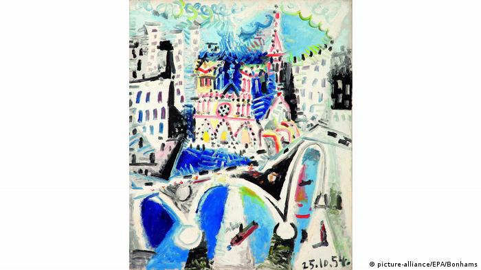 Notre Dame de Paris Pablo Picasso (picture-alliance/EPA/Bonhams)
