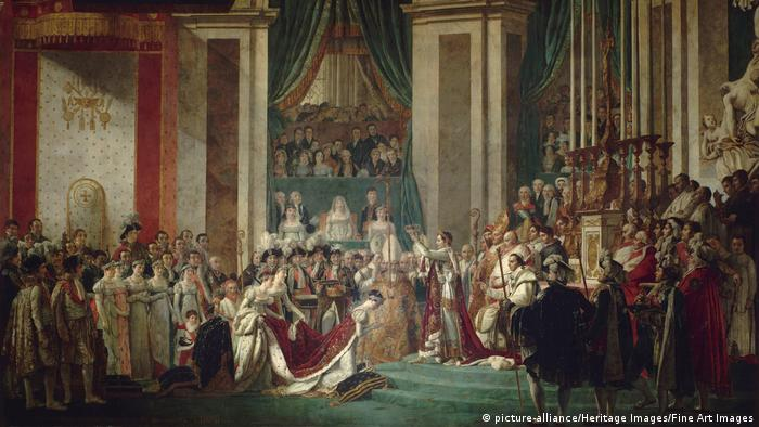 The Coronation of Napoleon painted by Jacques Louis David (picture-alliance/Heritage Images/Fine Art Images)
