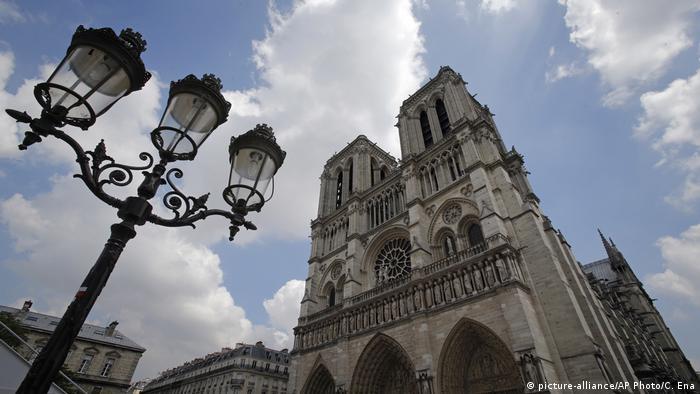 Frankreich Kathedrale Notre-Dame de Paris