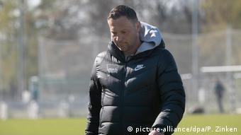 Fußball Hertha Trainer Pal Dardai (picture-alliance/dpa/P. Zinken)