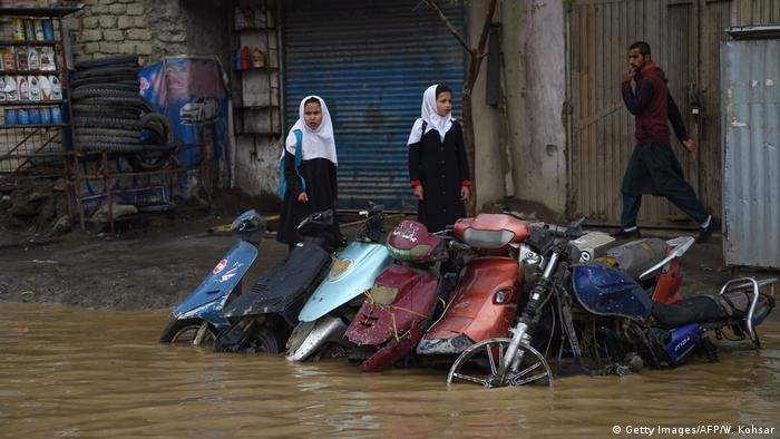 Überschwemmung Kabul