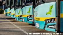 An ERDF-funded project in Poland: 22 electric buses for Jaworzno. Usage rights granted by Marzena Wilczyńska, Ministerstwo Inwestycji i Rozwoju