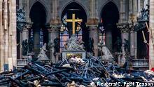 Frankreich Paris | Zerstörung nach Brand der Kathedrale Notre-Dame de Paris