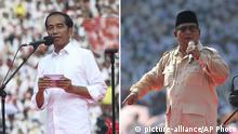 Indonesien wählt neuen Präsidenten und Parlament | Joko Widodo und Prabowo Subianto