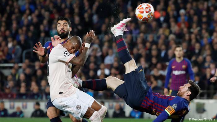 Champions League vs. Manchester United  (Reuters / S. Vera)