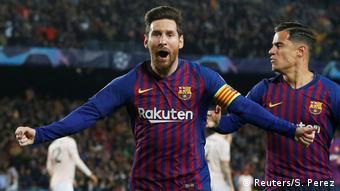 Champions League Barcelona gegen Manchester United |