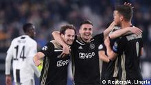 Ajax honra memória de Cruyff