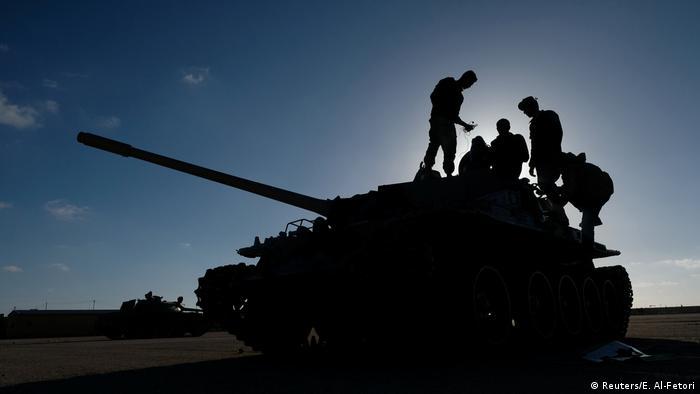 قوات مسلحة في ليبيا - أرشيف