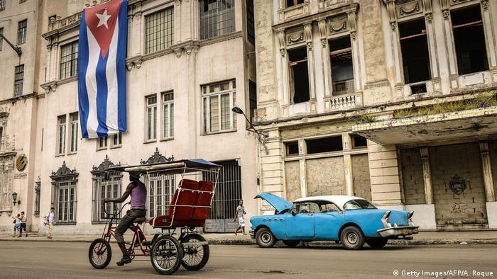 Foto de personas en La Habana