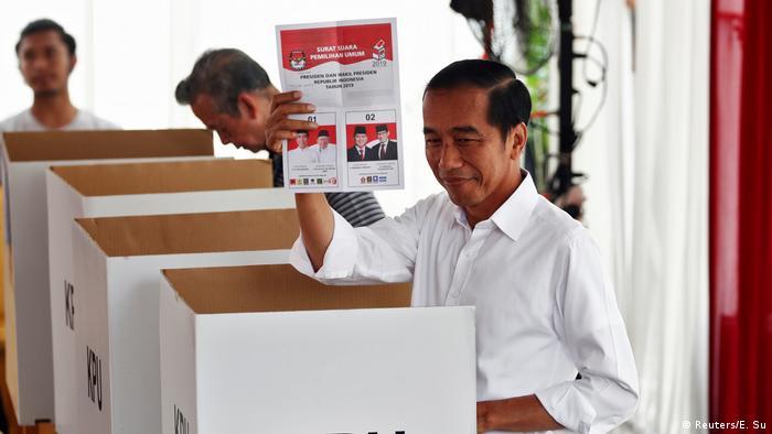 Wahlen in Indonesien Joko Widodo (Reuters/E. Su)
