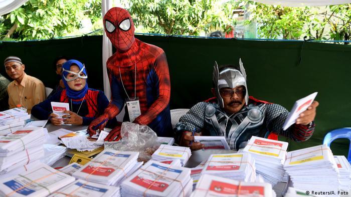 Indonesien Wahlen (Reuters/A. Foto)