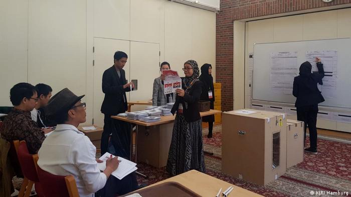 Wahlen Wahlen Indonesien Hamburg Deutschland