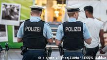 München Flughafen - Polizisten