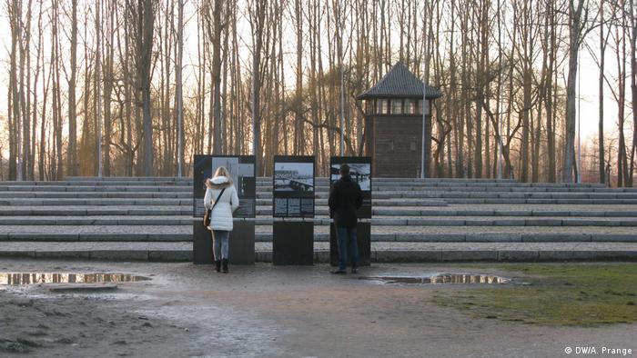O campo de concentração de Auschwitz