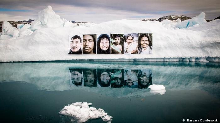 Art connecting the Amazon rainforest and Greenland's glaciers
