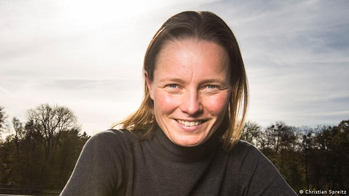 Melanie Stütz, co-founder of startup IDEASCANNER, which is a software to check the viability of business ideas and plans