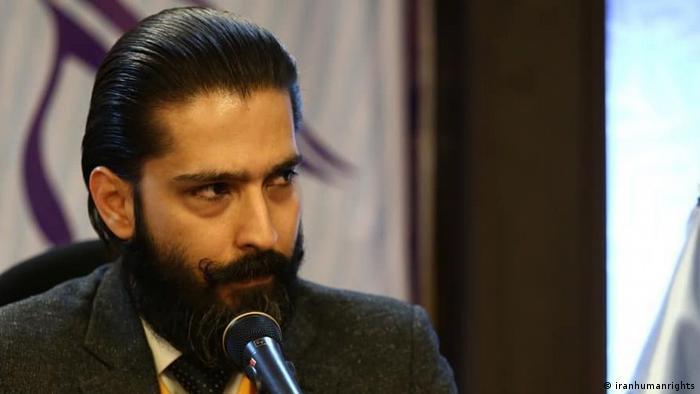 Iranischer Rechtsanwalt Amir Salar Davoudi (iranhumanrights)