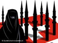 Плакати с всяващи страх символи