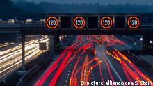 Autobahn A3 Geschwindigkeitsbegrenzung 120 Stundenkilometer