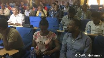 Äthiopien Bahir Dar - Treffen zu Raumfahrt