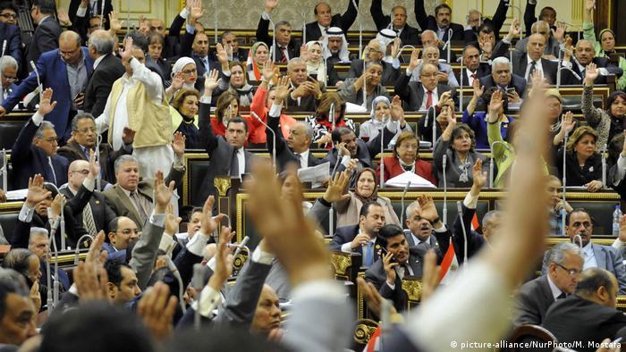 Ägypten stimmt über Ausbau der Macht des Präsidenten ab (picture-alliance/NurPhoto/M. Mostafa)