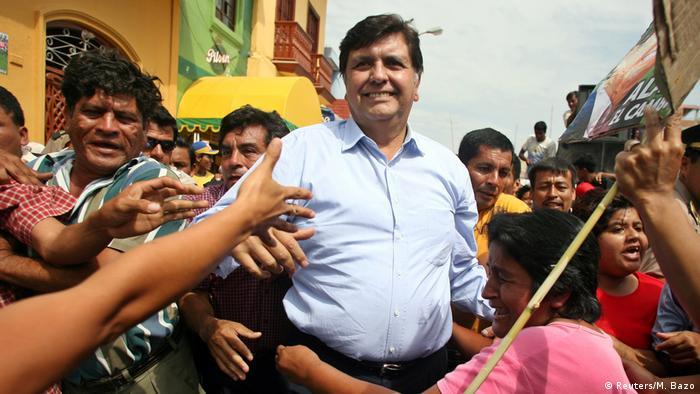 Peru Ex Präsident Alan Garcia Perez ARCHIV (Reuters/M. Bazo)