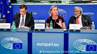 Frankreich Vorstellung des Konzeptspapiers für Beziehungen zwischen EU/Lateinamerika (Europäische Union 2019/M. Dossmann )
