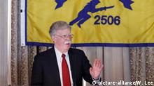 Nationaler Sicherheitsberater John Bolton der USA