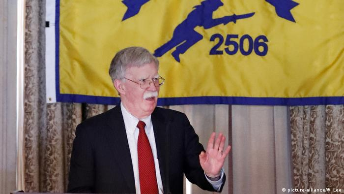 Nationaler Sicherheitsberater John Bolton der USA (picture-alliance/W. Lee)