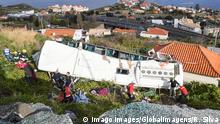 Portugal Busunglück auf Madeira