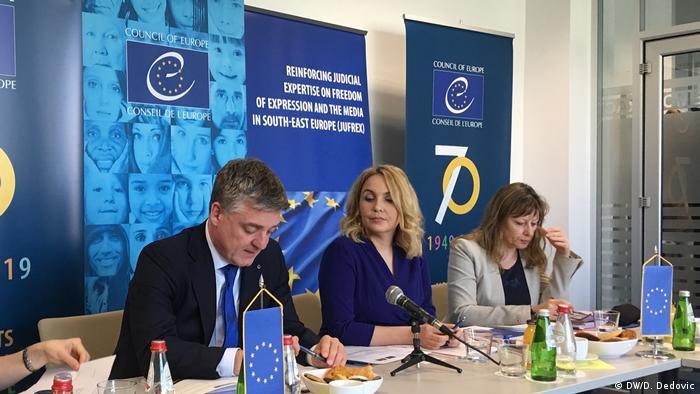 Serbien Belgrad PK Mitglieder Europarat