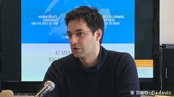 Serbien Belgrad Milos Stojkovic (DW/D. Dedovic)