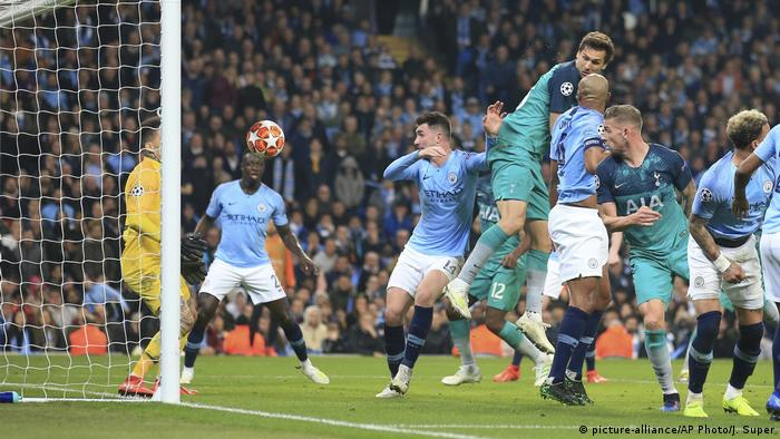 Champions League Tottenham Eliminate Manchester City In Dramatic Fashion Sports German Football And Major International Sports News DW