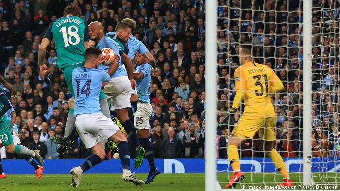 Champions League Manchester City - Tottenham Hotspur (Imago Images/Action Plus/D. Blunsden)