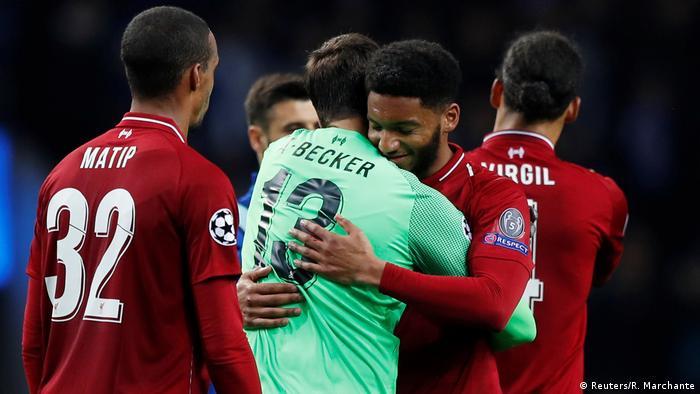 Champions League FC Porto - Liverpool (Reuters/R. Marchante)