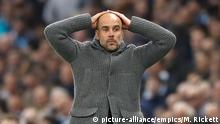 Champions League Manchester City - Tottenham Hotspur Pep Guardiola