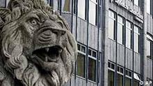 Bayerische Landesbank mit Löwe