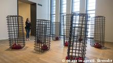 London, UK. 3 May 2016. Cellules 2012-13. Press preview of the Mona Hatoum exhibition at Tate Modern. The exhibition runs from 4 May to 21 August 2016. Mona Hatoum, Tate Modern, London, UK London UK 3 May 2016 cellules 2012 13 Press Preview of The Mona Hatoum Exhibition AT Tate Modern The Exhibition runs from 4 May to 21 August 2016 Mona Hatoum Tate Modern London UK
