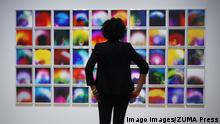 Großbritannien London - Susan Hiller in der Tate Modern (Imago Images/ZUMA Press)