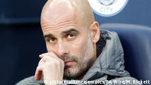 Manchester City Trainer Pep Guardiola