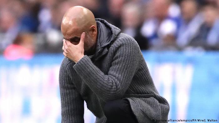 Manchester City Trainer Pep Guardiola