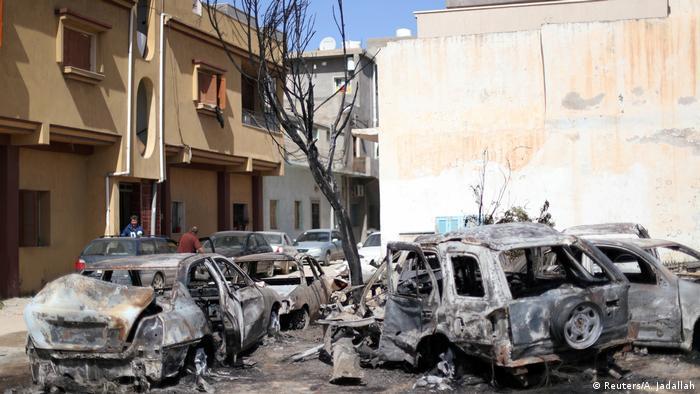 Libyen Bereits mehr als 200 Tote bei Kämpfen um die Hauptstadt Tripolis