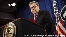 USA PK Justizminister Barr zum Mueller Report