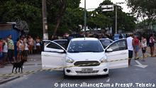 April 7, 2019 - Rio De Janeiro, RIO DE JANEIRO, BRAZIL - April 07 - Man dies after being shot in action by the Army in the West Zone of Rio de Janeiro, in Guadalupe Favela,..Residents and relatives say that the military confused and shot at a family; two other people were injured. More than 80 shots were fired, police said...A man identified as Evaldo dos Santos Rosa, 51, died and two people were injured in an Army action in the region of Vila Militar, in the West Zone of Rio, on Sunday afternoon (7). At least 80 shots were fired, second experts from the Homicide Office.....Evaldo and one of the injured, his father-in-law, identified as Sergio, were inside a white car hit by several shots fired by the military in Guadeloupe. The third wounded out of the vehicle would have been shot while trying to help.....07, 2019.. Rio De Janeiro, : Fabio Teixeira / ZUMA Wire |